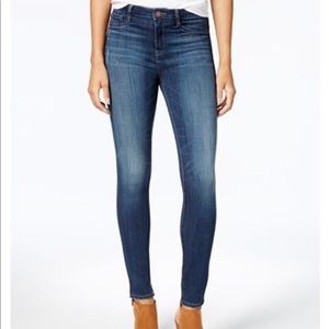 NWT William Rast Sculpted Highrise Skinny Jeans 25